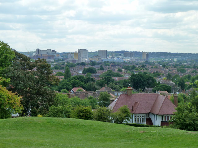 View towards central Croydon
