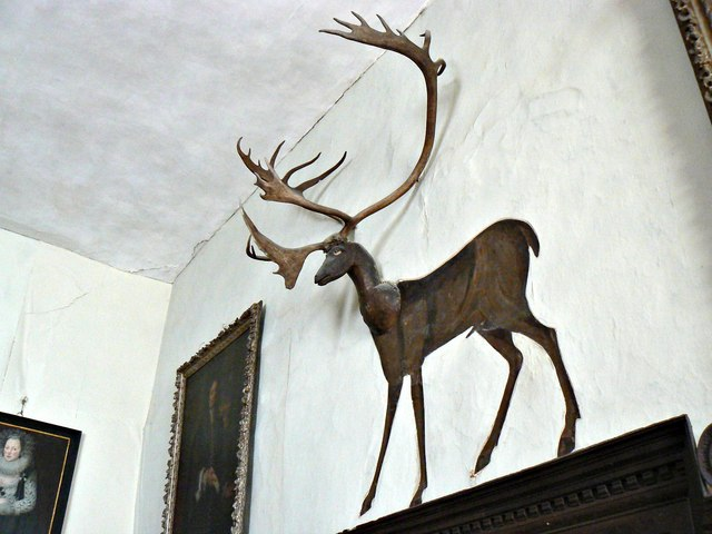 The Stag, Chastleton House, Chastleton, Oxfordshire