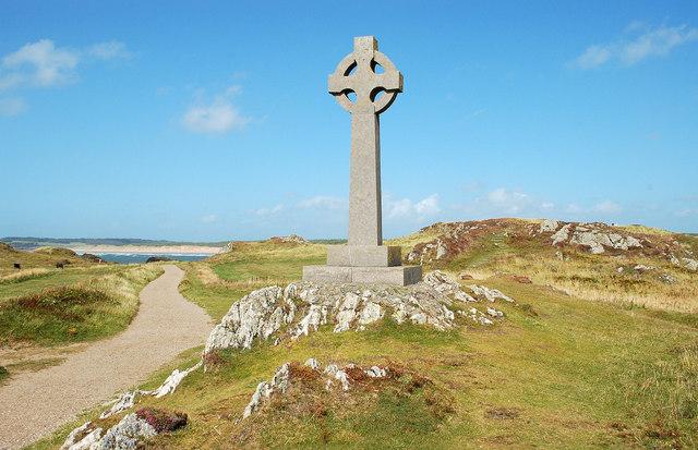 Celtic cross, Llanddwyn Island / Ynys Llanddwyn