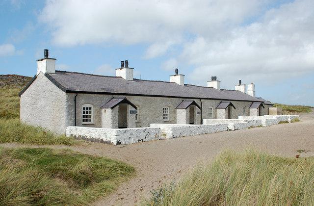 Pilots' Cottages, Llanddwyn Island / Ynys Llanddwyn