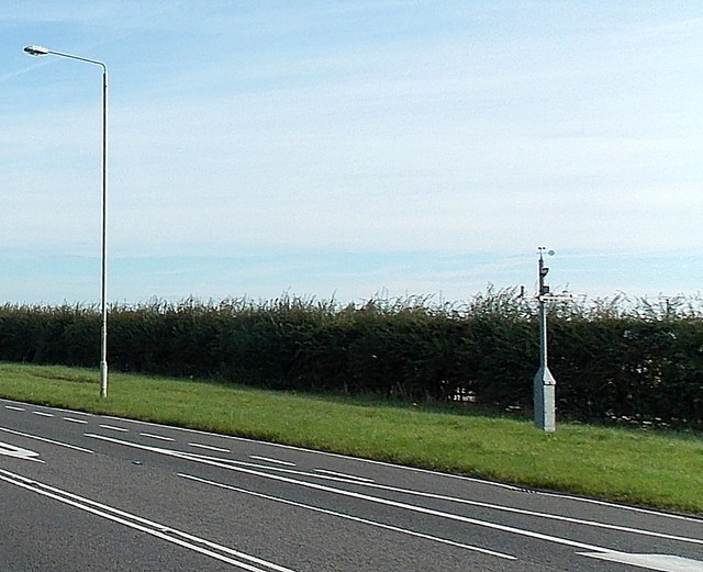 Roadside weather station near Bull in the Oak, Leicestershire
