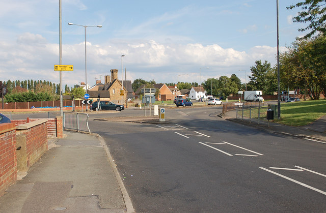 Roundabout at Water Eaton Road, Bletchley