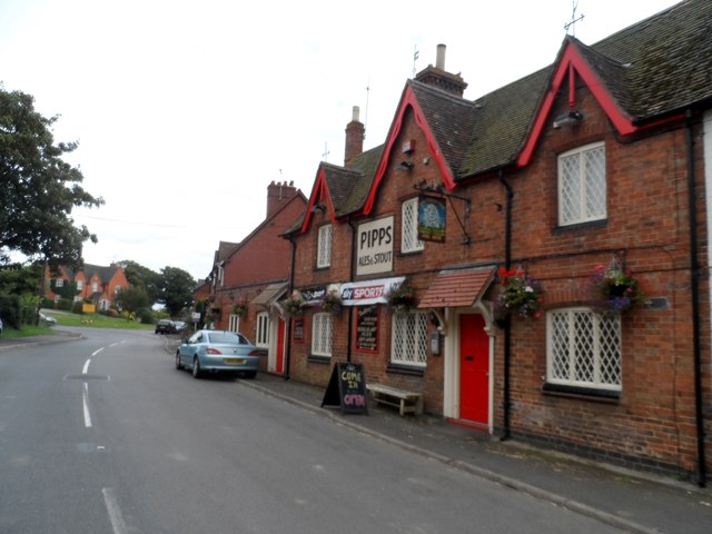 The Cherry Tree pub, Catthorpe