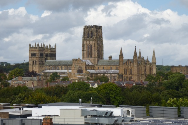 Across to Durham Cathdral