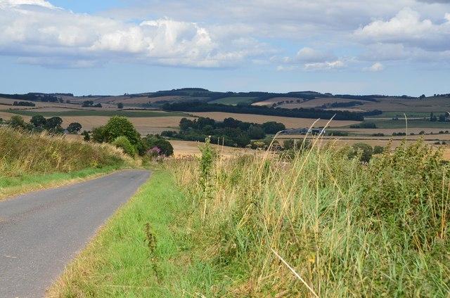 Minor road near Cessford