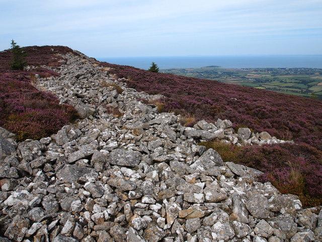 Iron Age Hillfort, Carn Fadryn