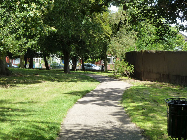 Path, Norbury Hall Park