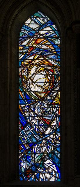 Pilgrim window, Beverley Minster