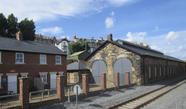 Former engine shed, Whitby