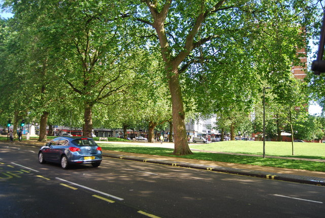 Uxbridge Rd and Shepherd's Bush Green