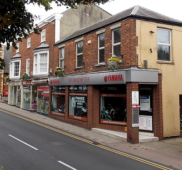 Yamaha motorcycle dealership in Melton Mowbray