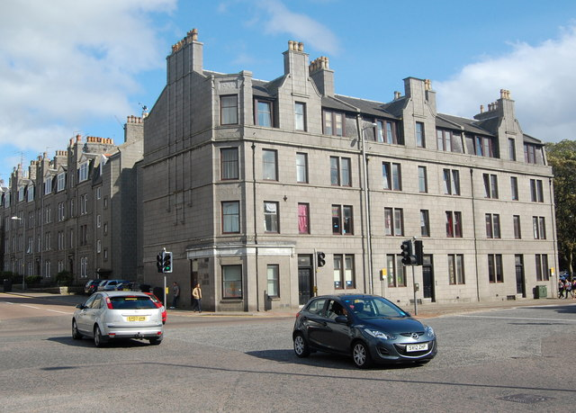 Junction of King Street and Seaforth Road, Aberdeen