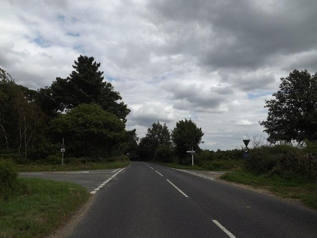 B1068 Sudbury Road, Stoke By Nayland