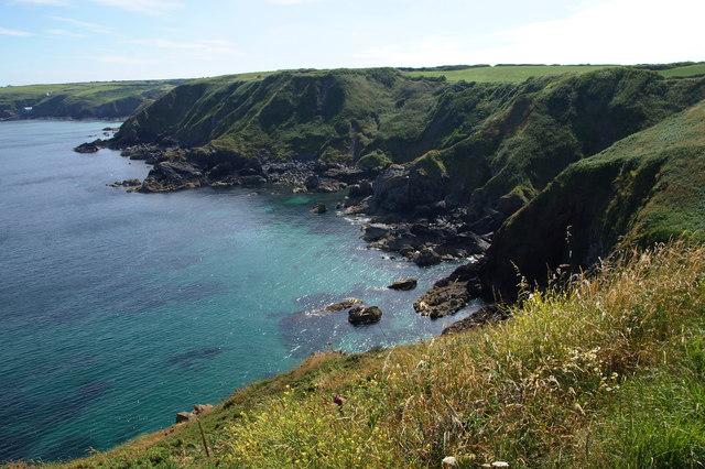 Cliffs at Polbarrow