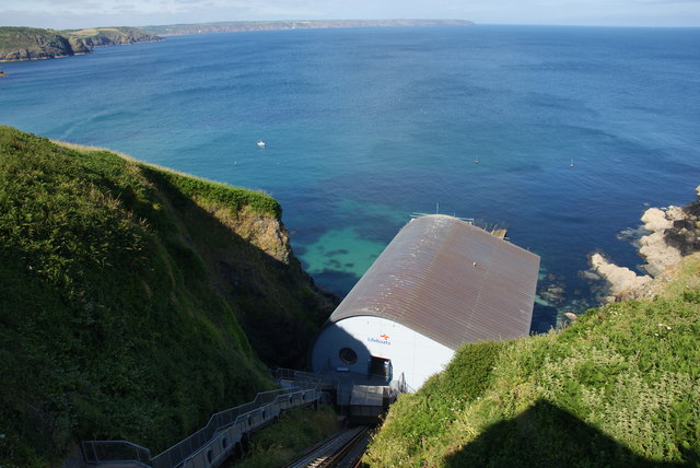 Lifeboat station at Kilcobben Cove