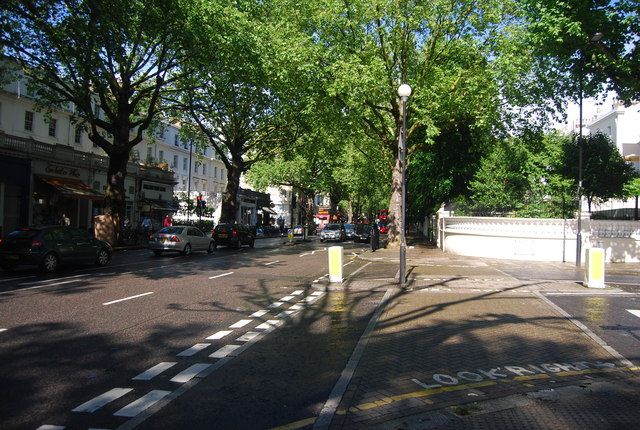 Holland Park Avenue, Holland Park junction