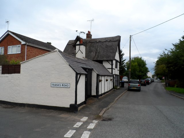 Thatched building, Walcote