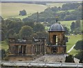 SK2670 : Chatsworth rooftops : Week 34