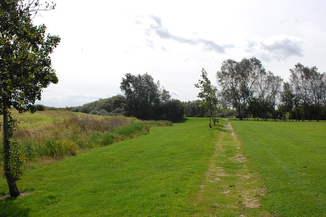 Path by Saltcoats Park