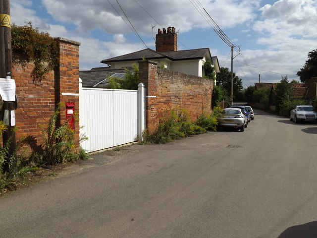 Church Street & Church Street Victorian Postbox