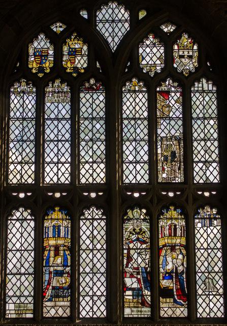 East Window, Little Malvern Priory