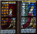 TR1557 : Detail, Stained glass window, N.XXXVIII, Canterbury Cathedral by Julian P Guffogg