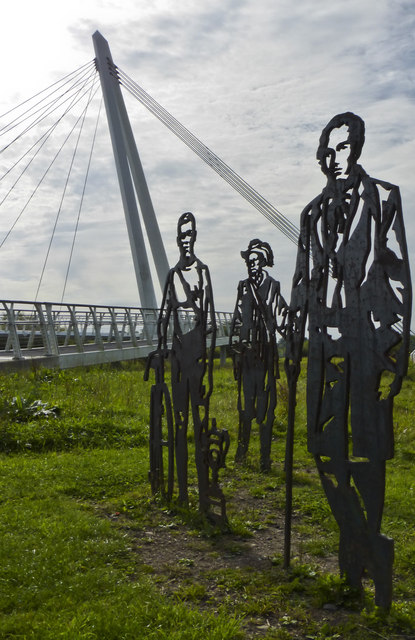 Diglis Bridge and Sculptures
