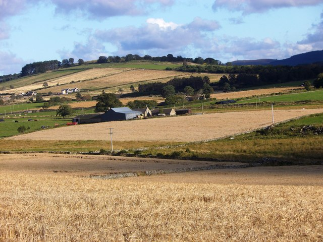 Harvest time around Torphins