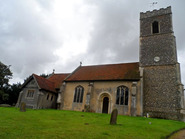 St Martin's church, Tuddenham