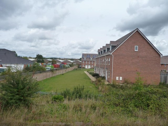 New houses off Hamlet Way