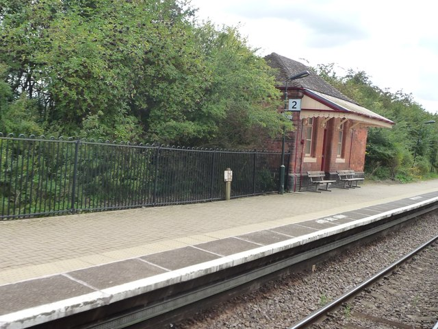 Waiting room, Platform 2, Wilmcote Station
