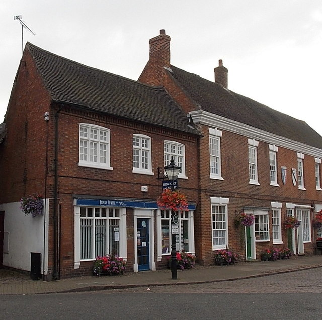 Solicitors' office and a building society agency in Market Bosworth