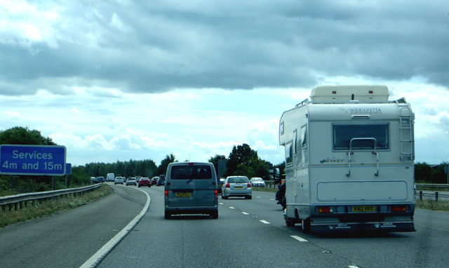 M5 Services ahead