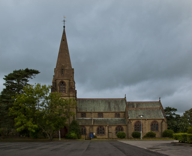 The parish church of St Lawrence of Blackburn