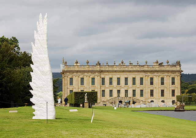 Sculpture at Chatsworth House