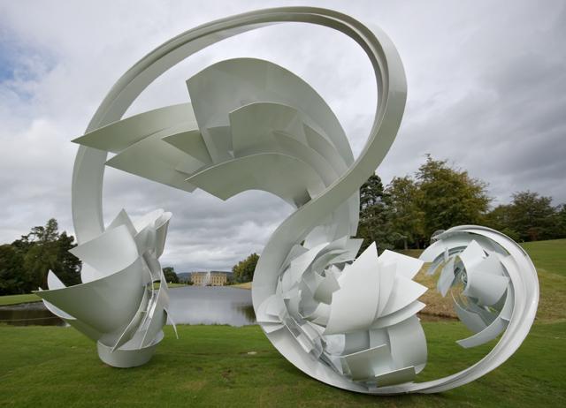 Chatsworth House sculpture