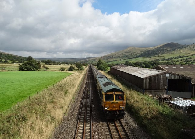 Train in the Vale of Edale