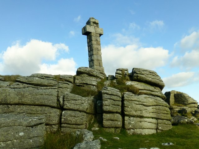 Widgery Cross On Brat Tor