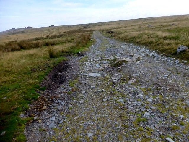 Track Towards Little Mis Tor
