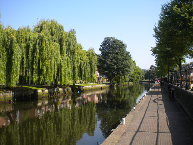 River Wensum north of Foundry Bridge, Norwich