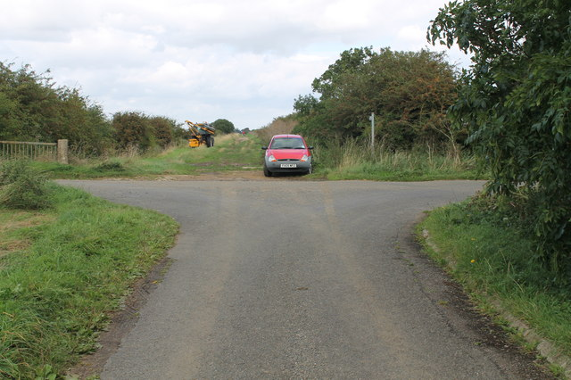 Crossroads on Snitterby Carr Lane