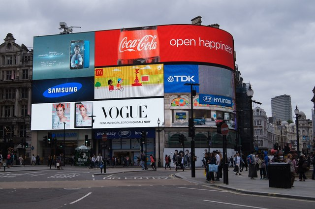 The 21C version - Piccadilly Circus