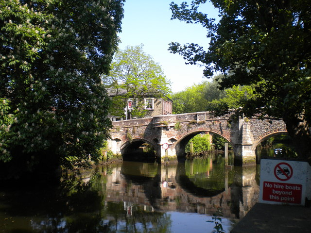 Bridge to Bishopgate, Norwich (1)