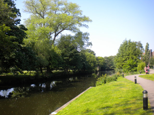 River Wensum north of Norwich city centre