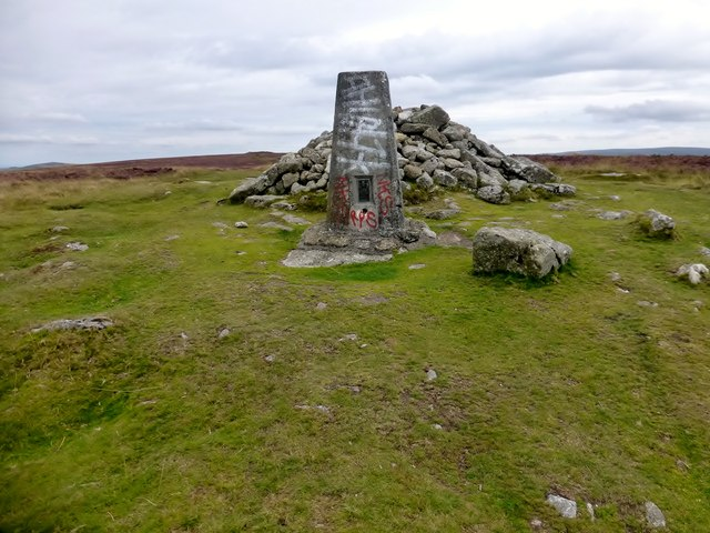 Hameldown Tor Trig Point