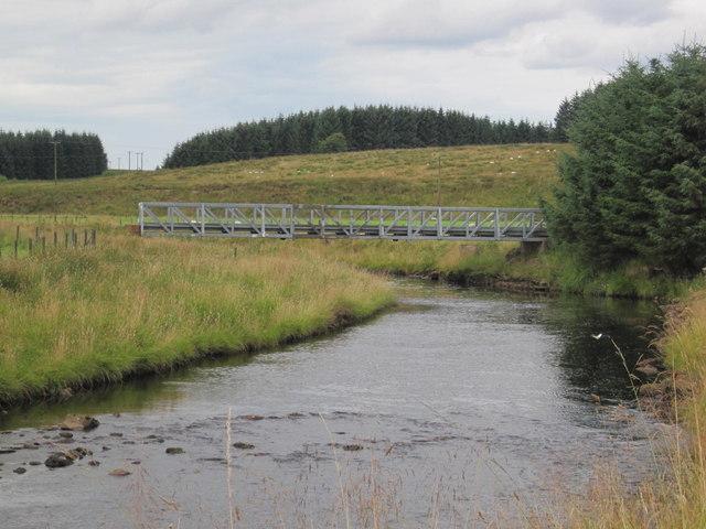 Lampert Bridge over the River irthing