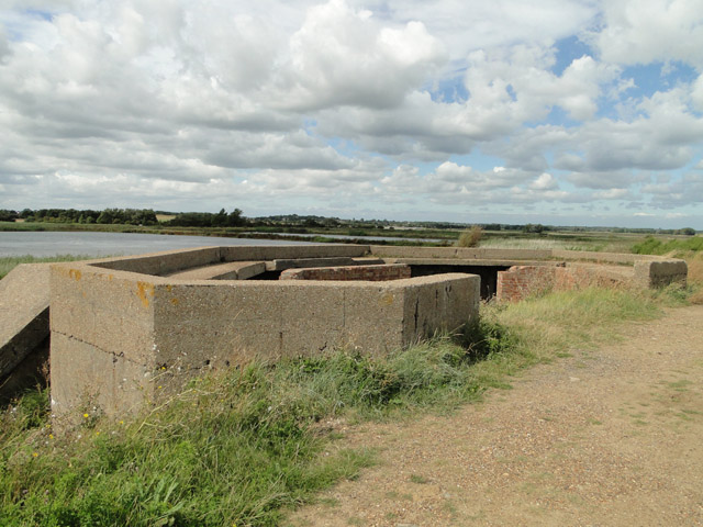 Bawdsey Emergency Coastal Defence battery