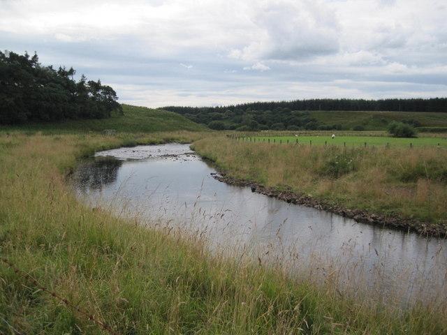 River Irthing near Lampert
