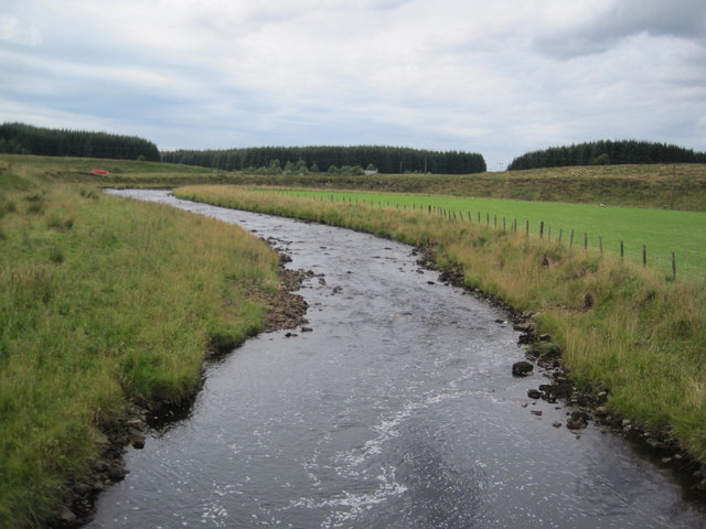 River Irthing from Lampert Bridge