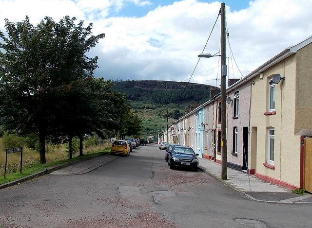David Street, Blaengarw